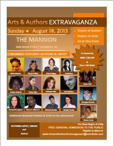 2013 Arts & Authors Extravaganza