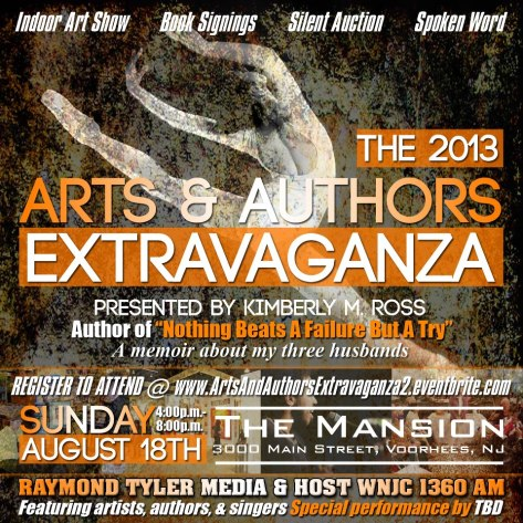 2013 Arts % Authors Extravaganza