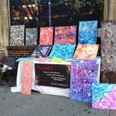 Vending on South Street Phila Pa 9.7.13 So thankful of the connections made!!