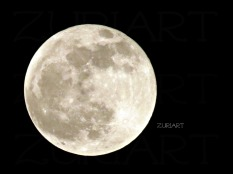 ZuriART Photo MOON by Alicia Adanna