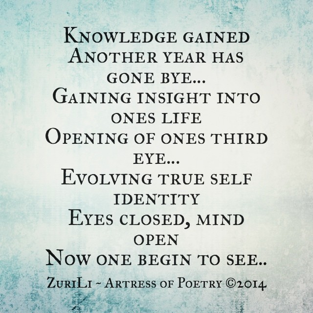 New Year Poem By ZuriLi ~ Artress of Poetry